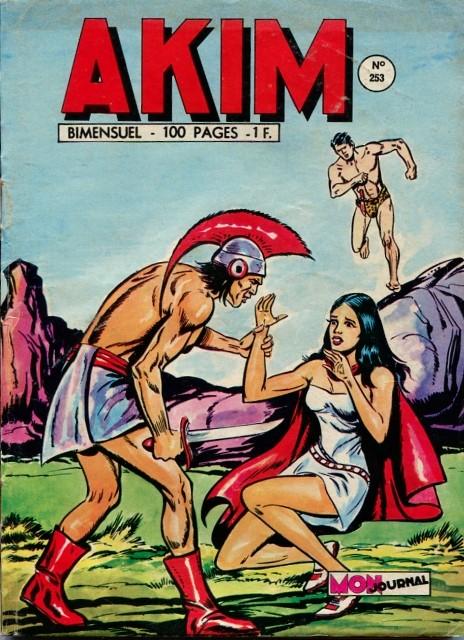 Couverture de Akim (1re série) -253- Le piège de feu