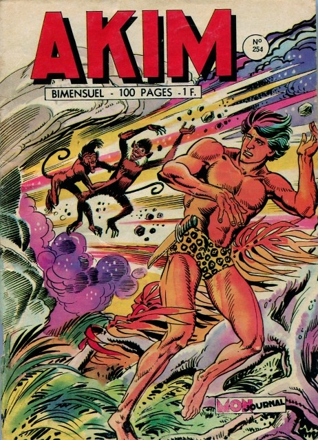 Couverture de Akim (1re série) -254- Le retour des étrangleurs