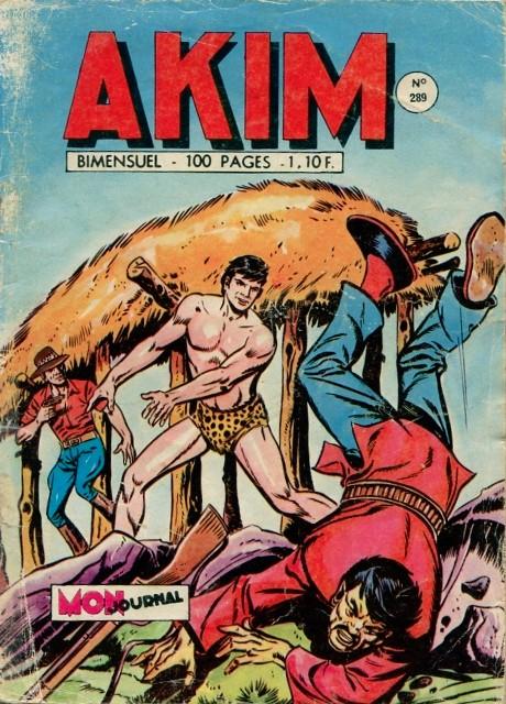 Couverture de Akim (1re série) -289- L'historique exploit de Zig