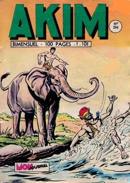 Couverture de Akim (1re série) -294- Le mystère de la vallée du couchant