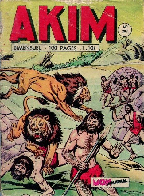 Couverture de Akim (1re série) -297- La dernière bataille