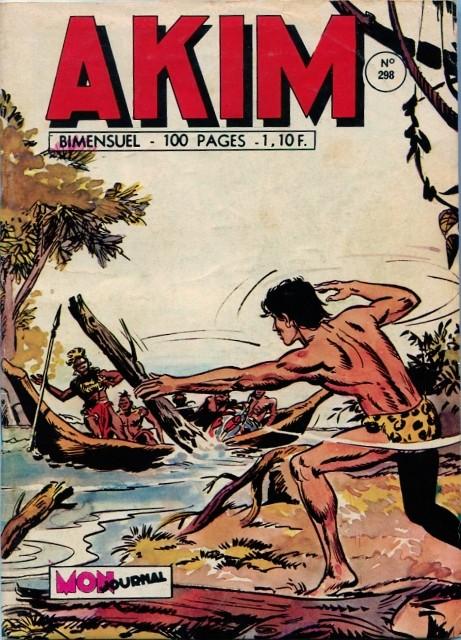 Couverture de Akim (1re série) -298- Le marécage de la mort