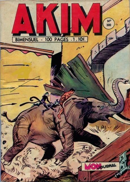 Couverture de Akim (1re série) -300- Mort pour un petit prince