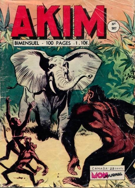 Couverture de Akim (1re série) -307- Duel de géants