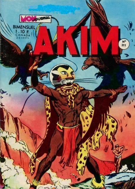 Couverture de Akim (1re série) -311- Le sacrifice de la grande lune