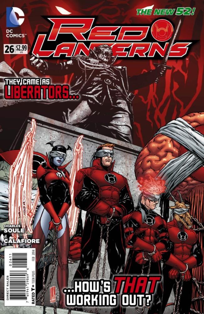 Couverture de Red Lanterns (2011) -26- Red, Dead