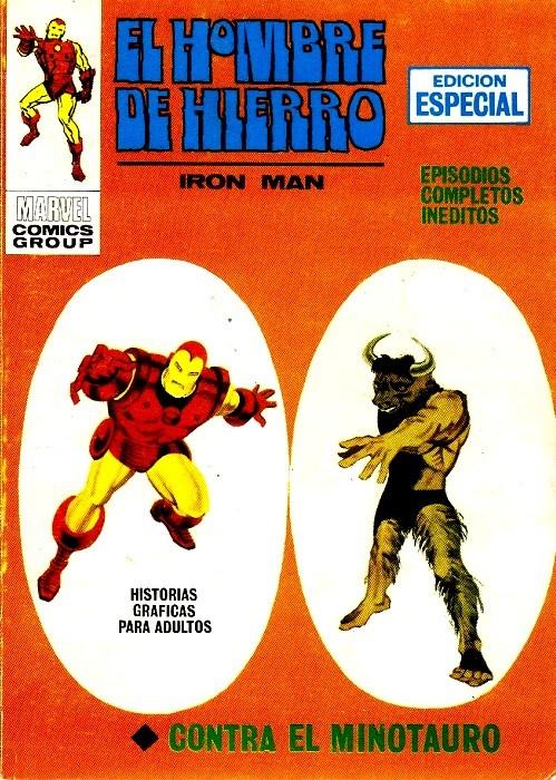 Couverture de Hombre de Hierro (El) (Iron Man) Vol. 1 -10- Contra el Minotauro
