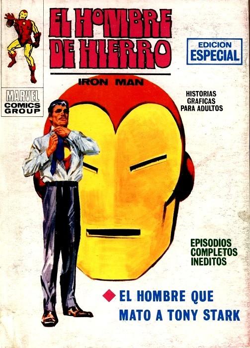 Couverture de Hombre de Hierro (El) (Iron Man) Vol. 1 -12- El hombre que mató a Tony Stark