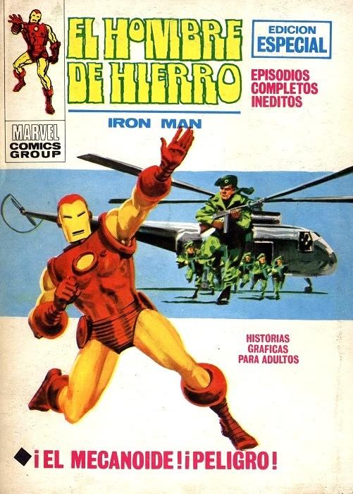 Couverture de Hombre de Hierro (El) (Iron Man) Vol. 1 -14- ¡El Mecanoide! ¡Peligro!
