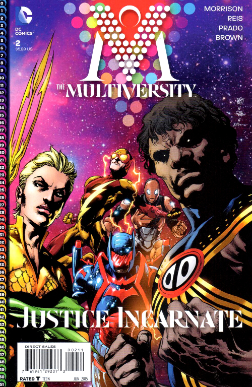 Couverture de The multiversity (2014) -2- Justice Incarnate