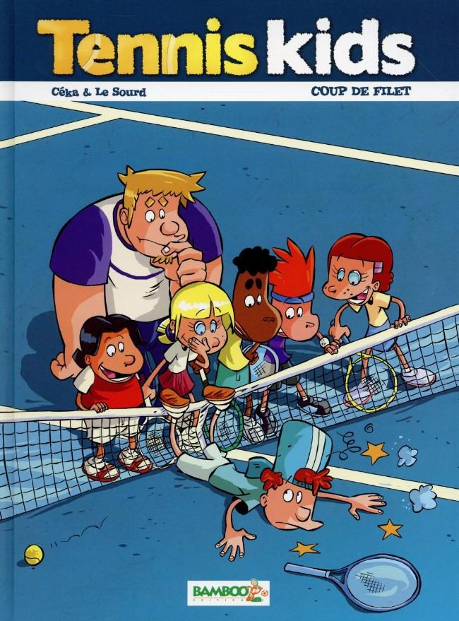 Couverture de Tennis Kids -2- Coup de filet