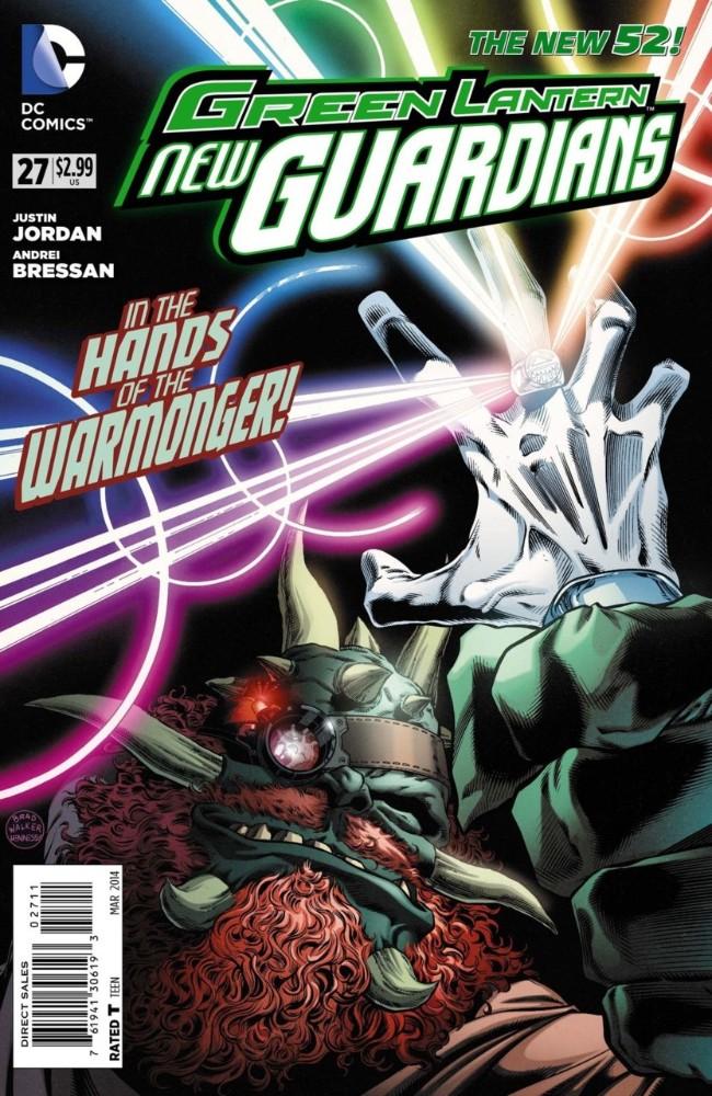 Couverture de Green Lantern: New Guardians (DC Comics - 2011) -27- Keeper