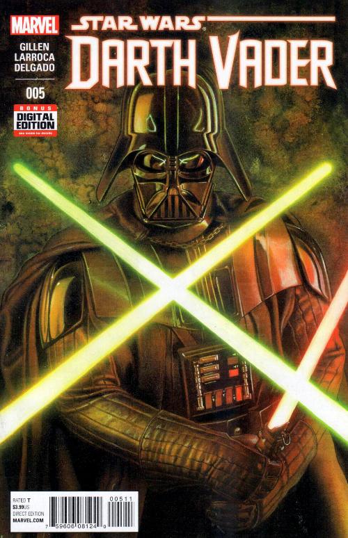 Couverture de Darth Vader (2015) -5- Book I, Part V : Vader