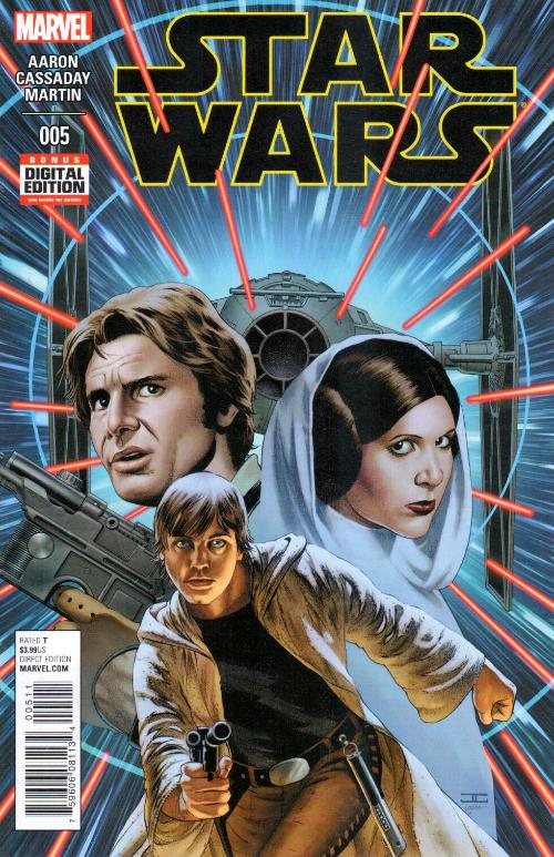 Couverture de Star Wars Vol.2 (Marvel comics - 2015) -5- Book I, Part V Skywalker Strikes