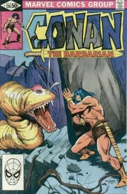 Couverture de Conan the Barbarian Vol 1 (Marvel - 1970) -126- The blood red eye of truth!