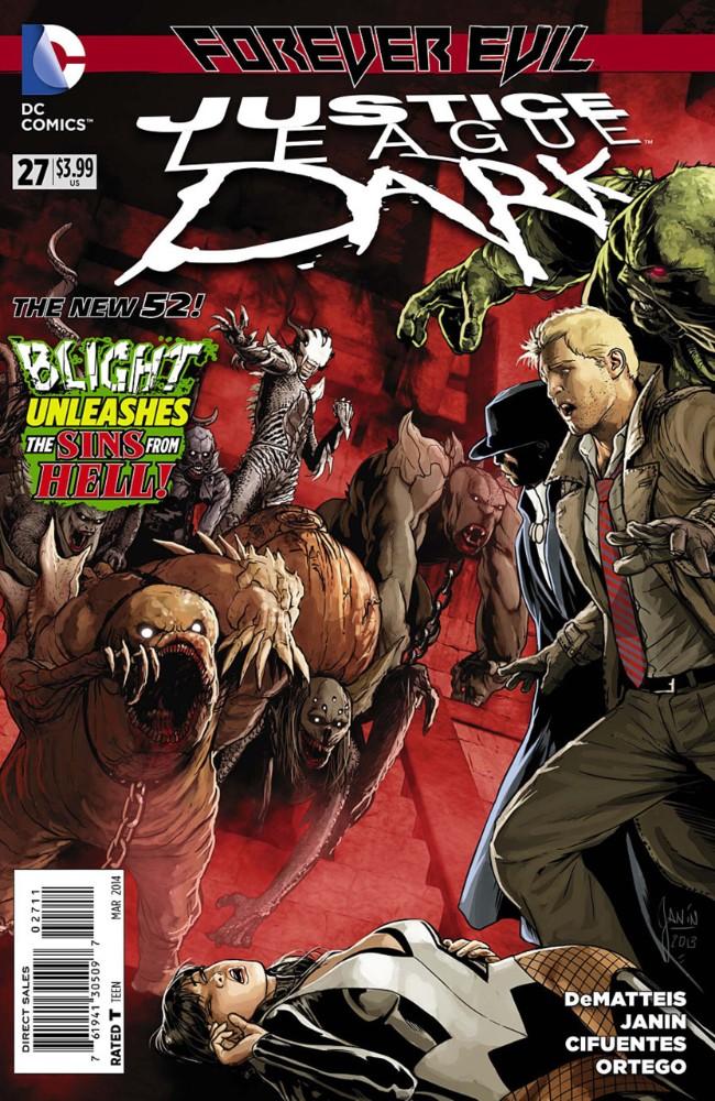 Couverture de Justice League Dark (2011) -27- Forever Evil: Blight - Redemption