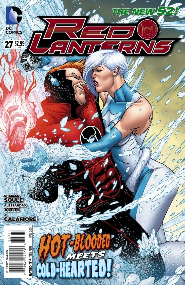 Couverture de Red Lanterns (2011) -27- Hot and Cold