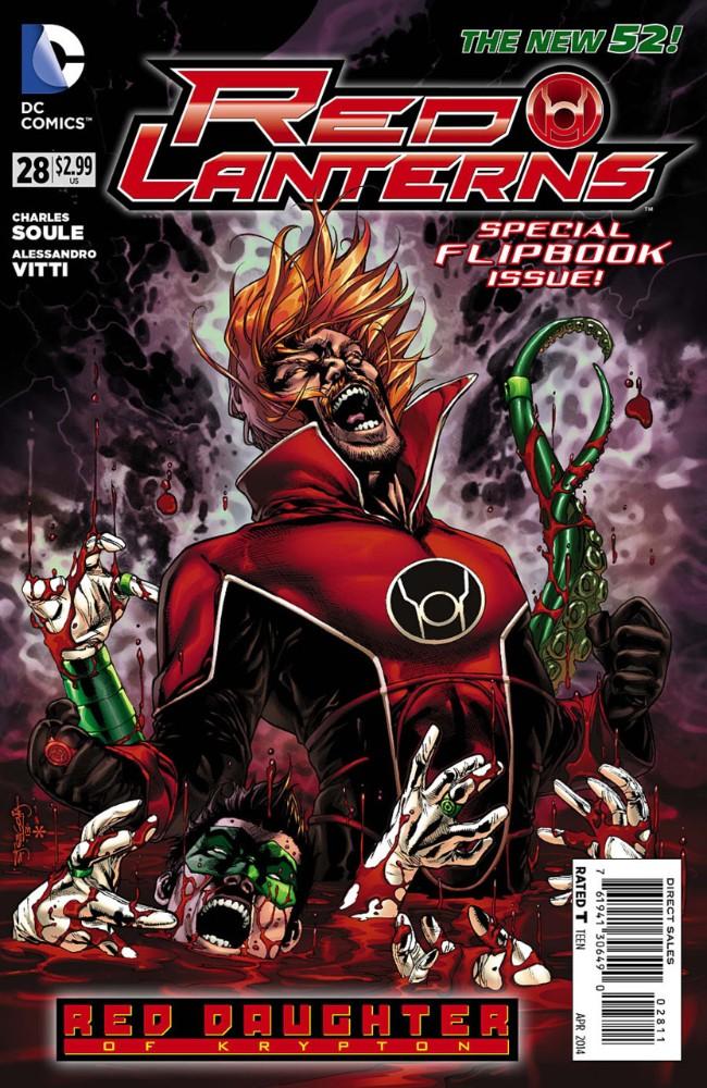 Couverture de Red Lanterns (2011) -28- Red Alert, Part 2 of 2