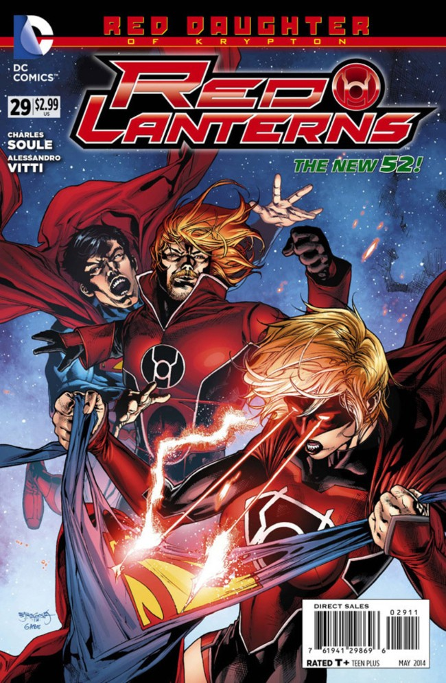 Couverture de Red Lanterns (2011) -29- Forever