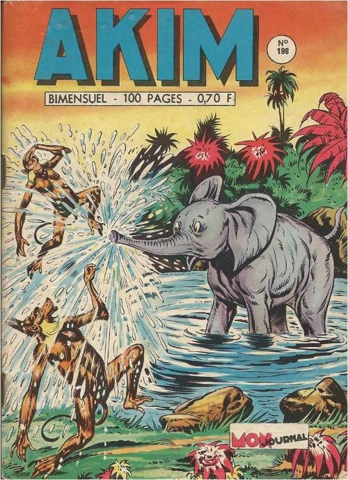 Couverture de Akim (1re série) -198- La révolte des Simiotis