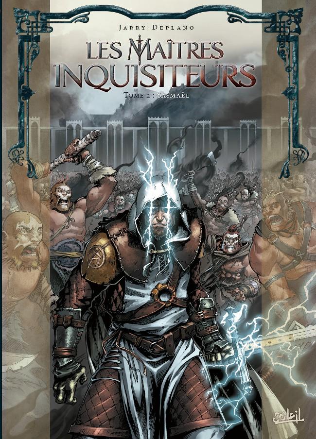 Couverture de Les maîtres Inquisiteurs -2- Sasmaël
