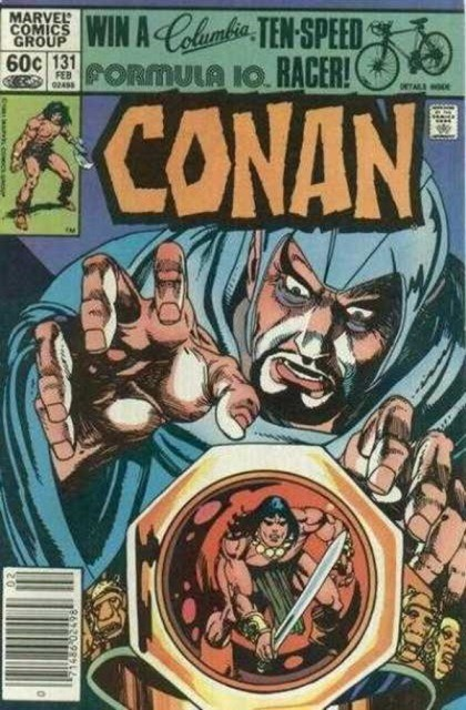 Couverture de Conan the Barbarian Vol 1 (Marvel - 1970) -131- The ring of Rhax