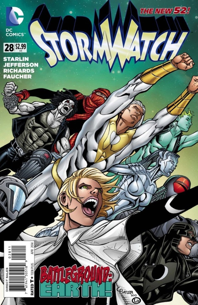 Couverture de Stormwatch (2011) -28- Endgame