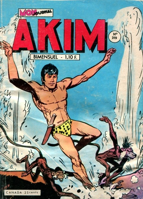 Couverture de Akim (1re série) -319- La bataille de la dernière chance