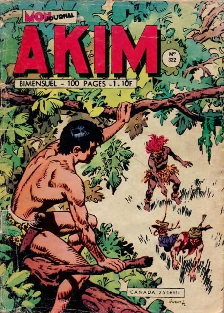 Couverture de Akim (1re série) -322- La vengeance des dieux
