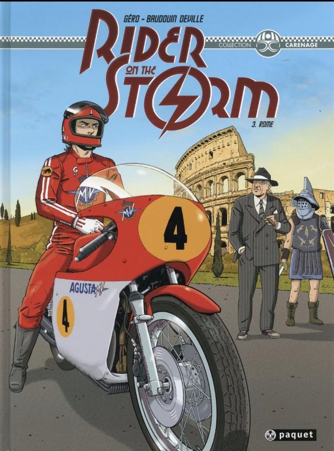 Couverture de Rider on the storm -3- Rome