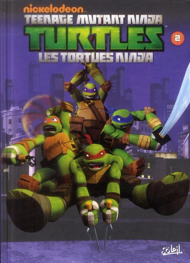 Teenage mutant ninja turtles les tortues ninja bd informations cotes - Tortue ninja couleur ...