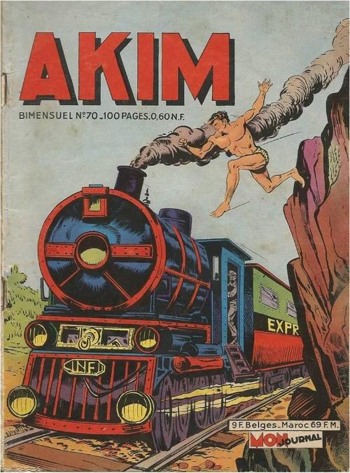 Couverture de Akim (1re série) -70- L'enveloppe mystérieuse