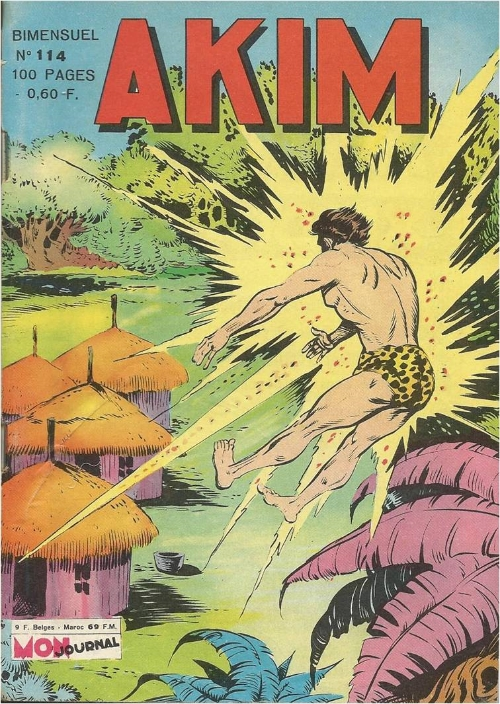 Couverture de Akim (1re série) -114- Atomix