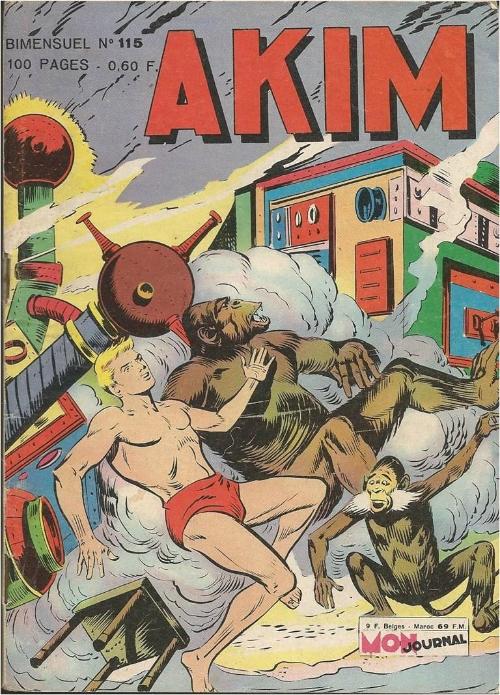 Couverture de Akim (1re série) -115- Le mur magnétique