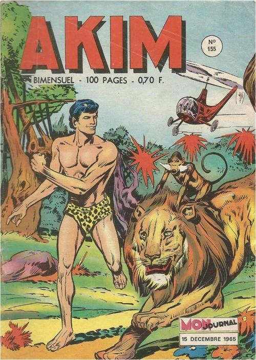 Couverture de Akim (1re série) -155- Le point