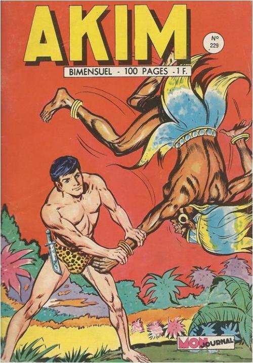 Couverture de Akim (1re série) -229- La lance sacrée de Thor