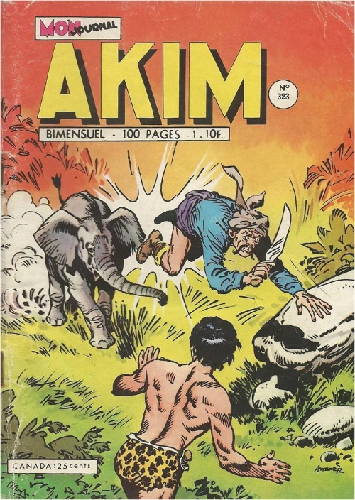 Couverture de Akim (1re série) -323- Celui qu'on croyait mort
