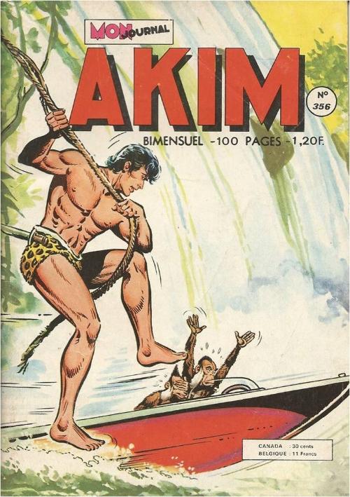 Couverture de Akim (1re série) -356- Une certaine Sonia Ascot
