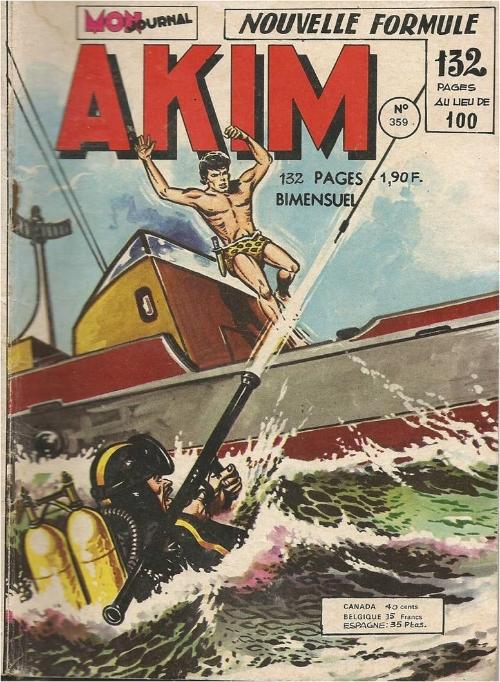 Couverture de Akim (1re série) -359- Le trésor de Baltimore