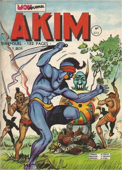 Couverture de Akim (1re série) -373- Les naufragés de