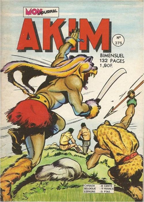 Couverture de Akim (1re série) -375- Le repaire de la mygale
