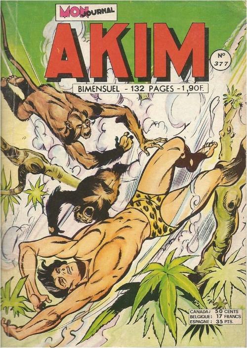 Couverture de Akim (1re série) -377- Le troisième homme