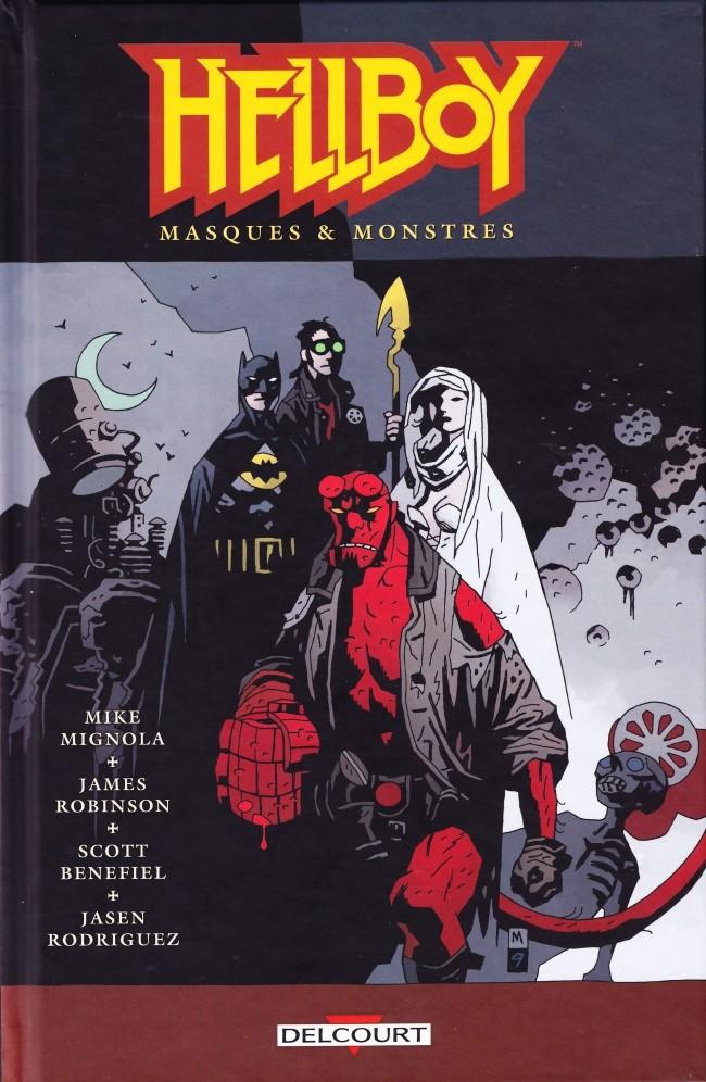 Couverture de Hellboy (Delcourt) -14- Masques & monstres