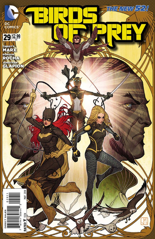 Couverture de Birds of Prey (2011) -29- The Eve of Battle