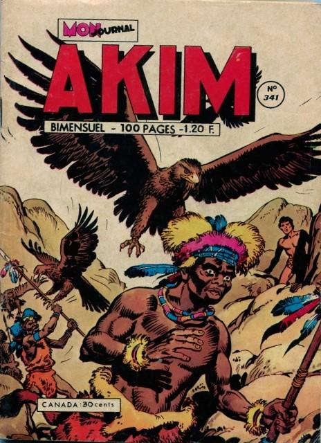 Couverture de Akim (1re série) -341- La folle chevauchée