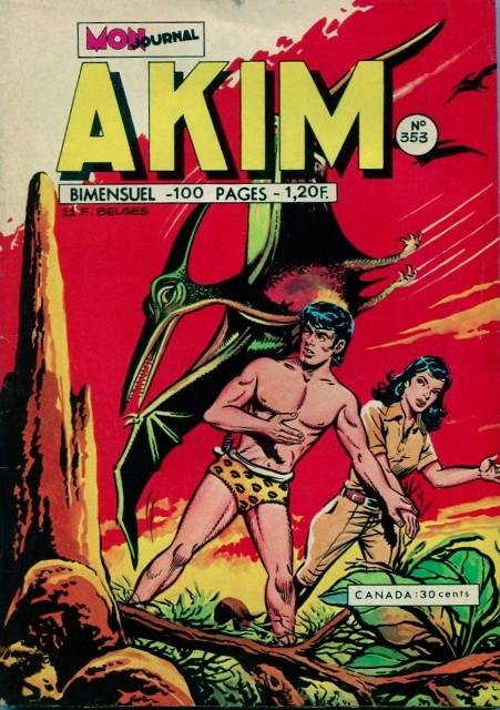 Couverture de Akim (1re série) -353- L'invasion des oiseaux-serpents
