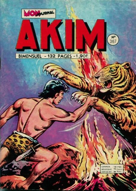 Couverture de Akim (1re série) -367- Graanh le justicier