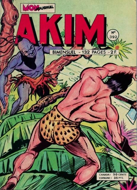 Couverture de Akim (1re série) -392- La flèchette empoisonnée