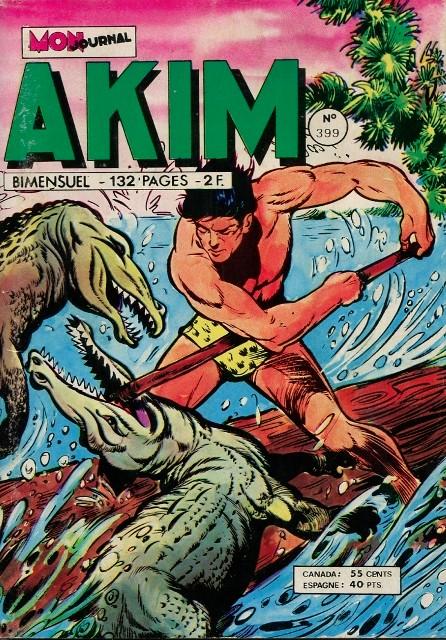 Couverture de Akim (1re série) -399- Les visages de craie