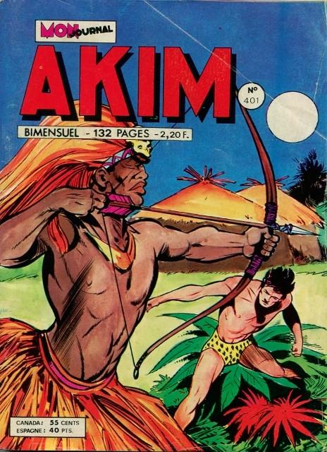 Couverture de Akim (1re série) -401- Le retour des Jagghans